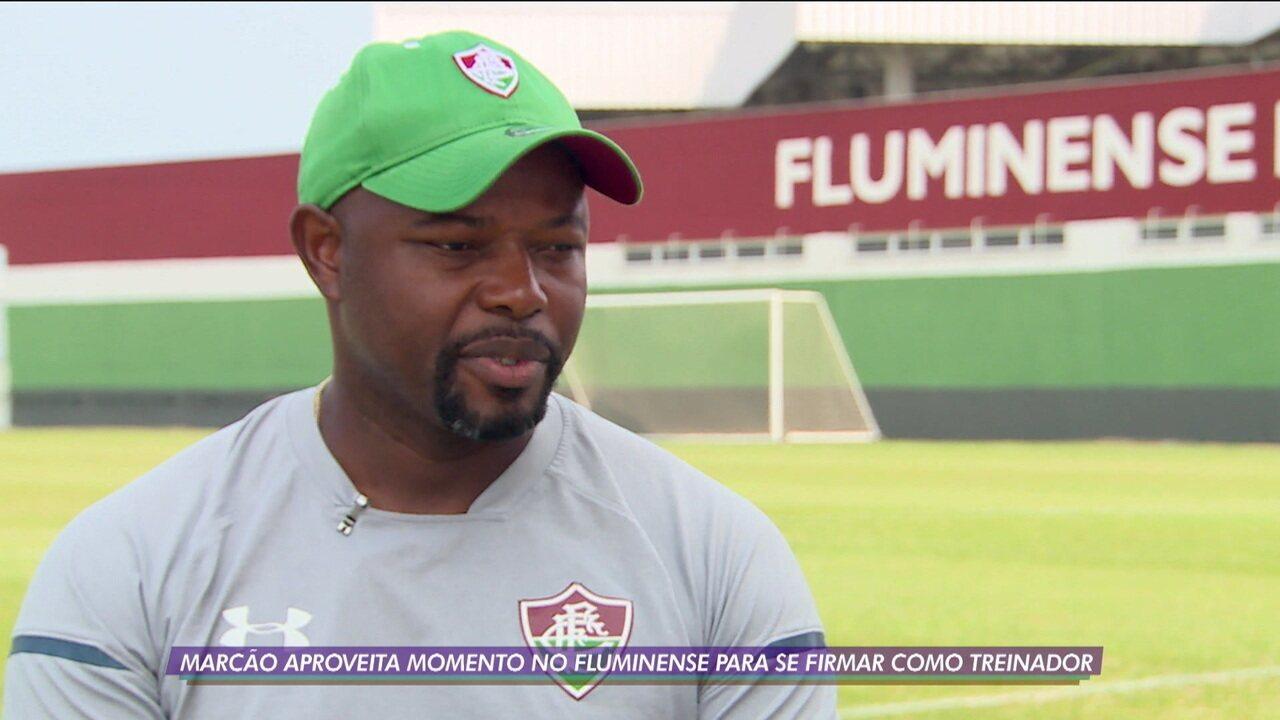Marcão aproveita momento no Fluminense para se firmar como treinador