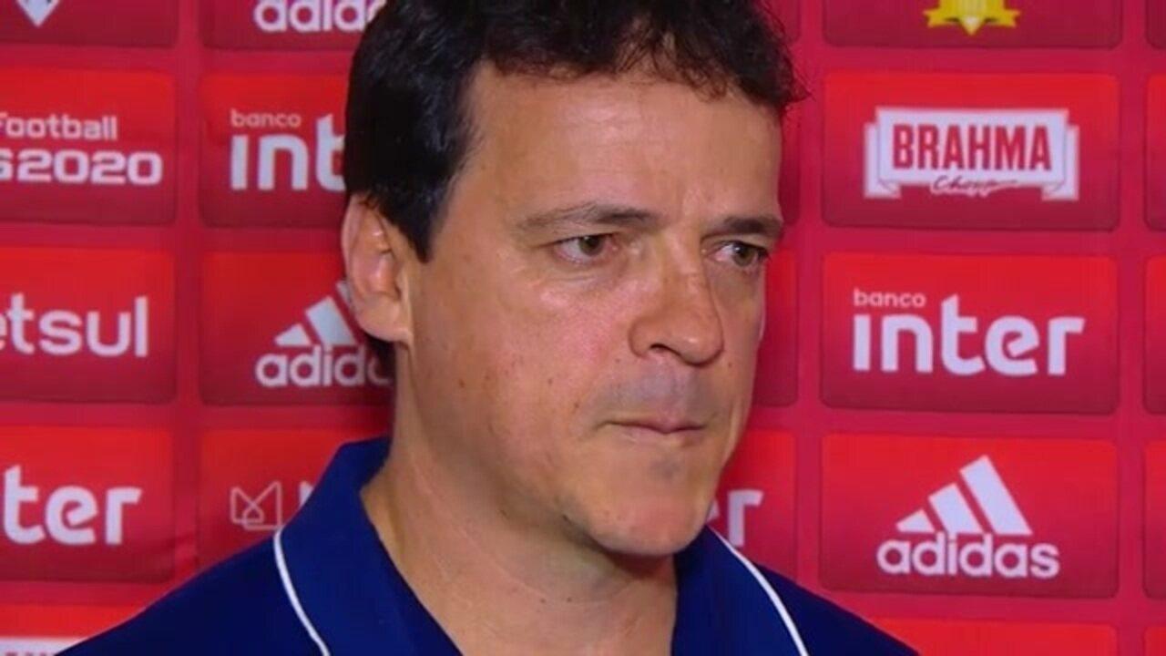 Veja como foi a entrevista de Fernando Diniz, técnico do São Paulo, após empate com o Bahia