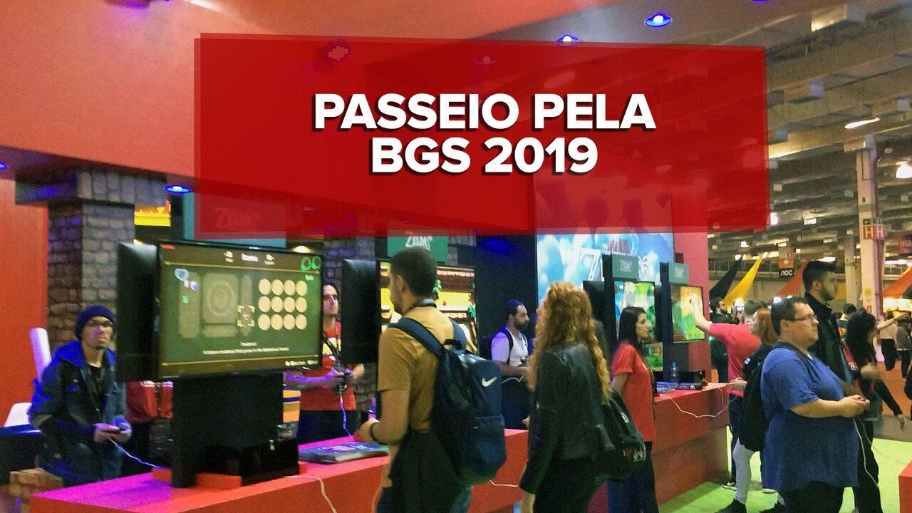 Brasil Game Show 2019 reúne três grandes empresas dos games; veja passeio