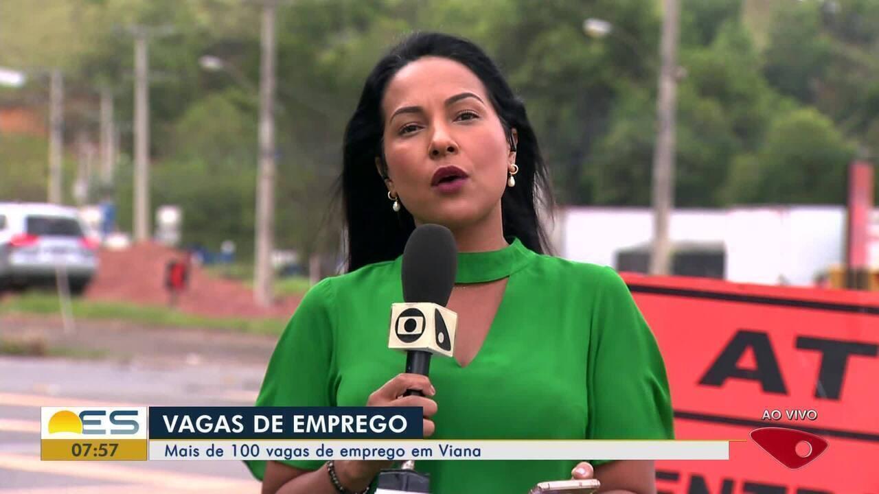 Viana, ES, tem mais de 100 vagas de emprego abertas