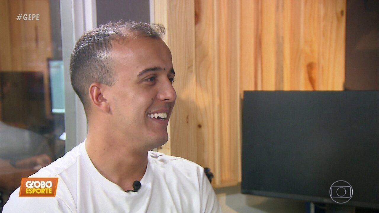 Na Rede Globo, do Recife, Matheus Carvalho relembra momentos marcantes da carreira