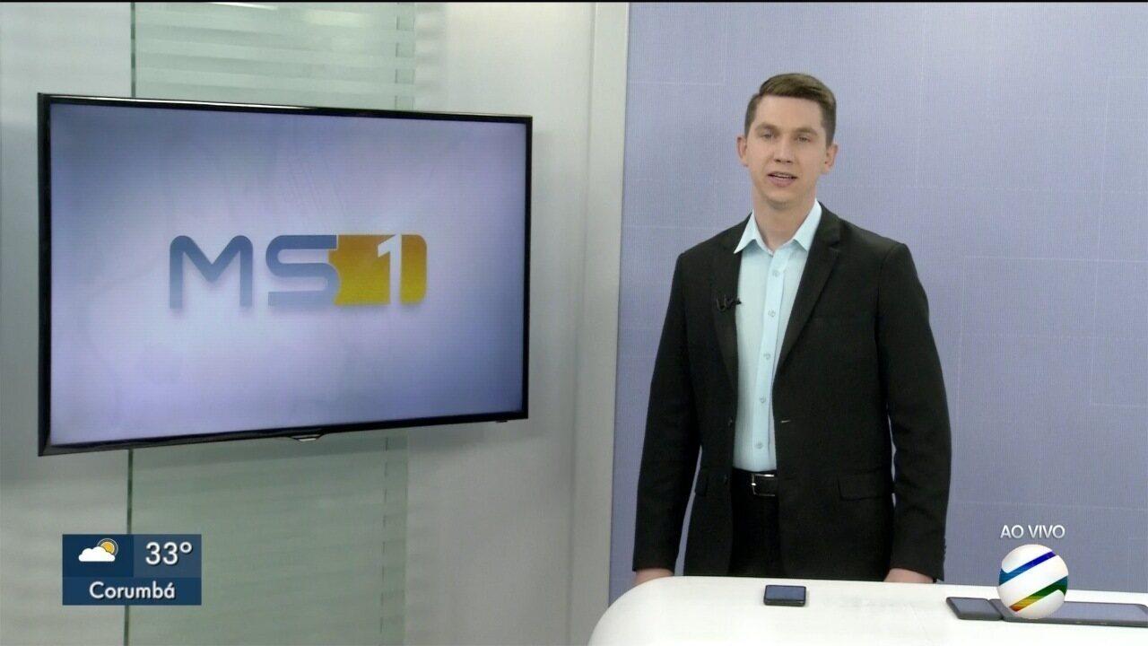 MSTV 1° Edição Corumbá, quinta-feira, 10/10/2019 - MSTV 1° Edição Corumbá, quinta-feira, 10/10/2019