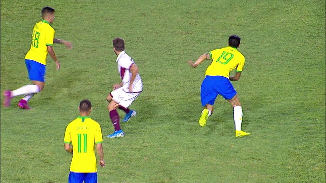 Melhores momentos de Brasil 4 x 1 Venezuela em amistoso internacional sub-23