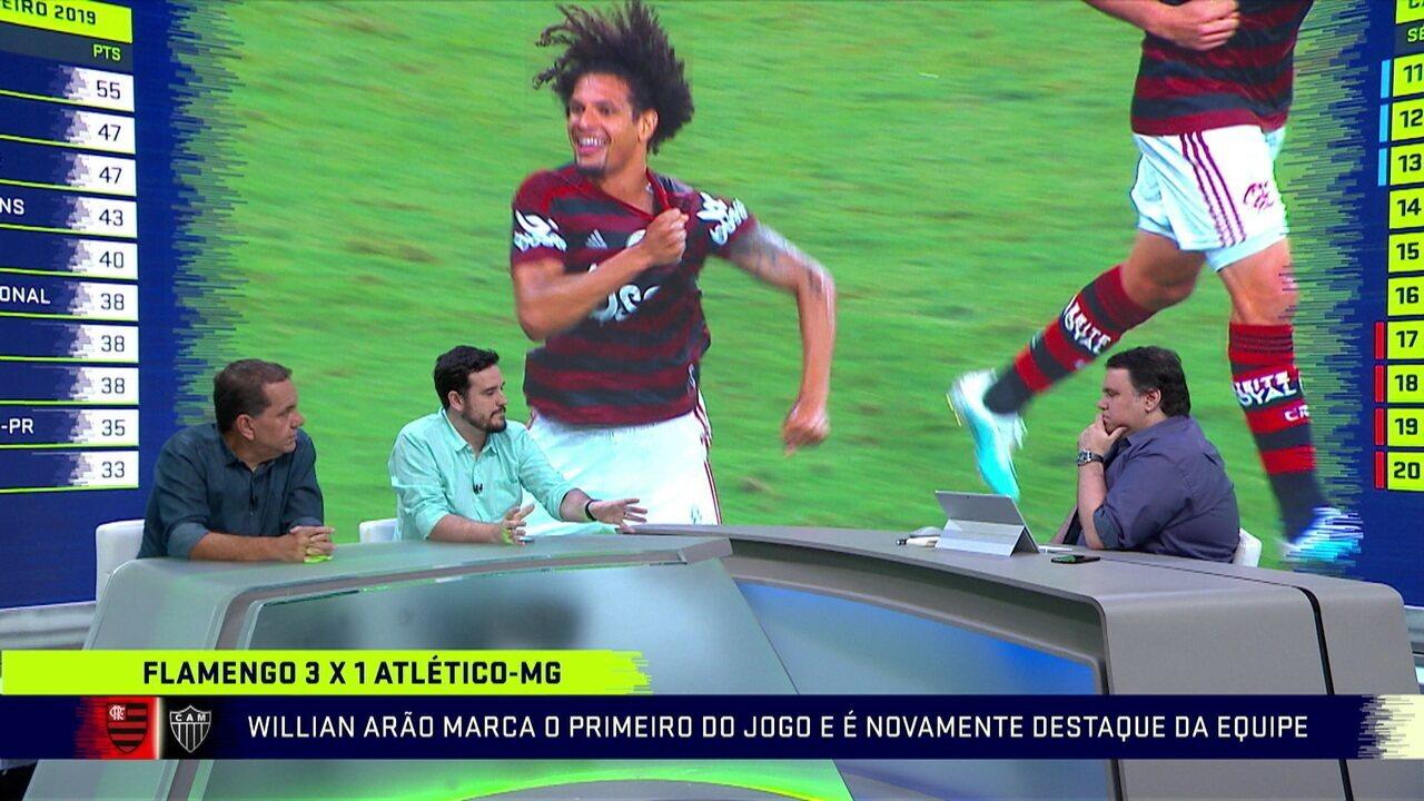 Comentaristas dizem que todos os jogadores do Flamengo evoluíram após a chegada de Jorge Jesus