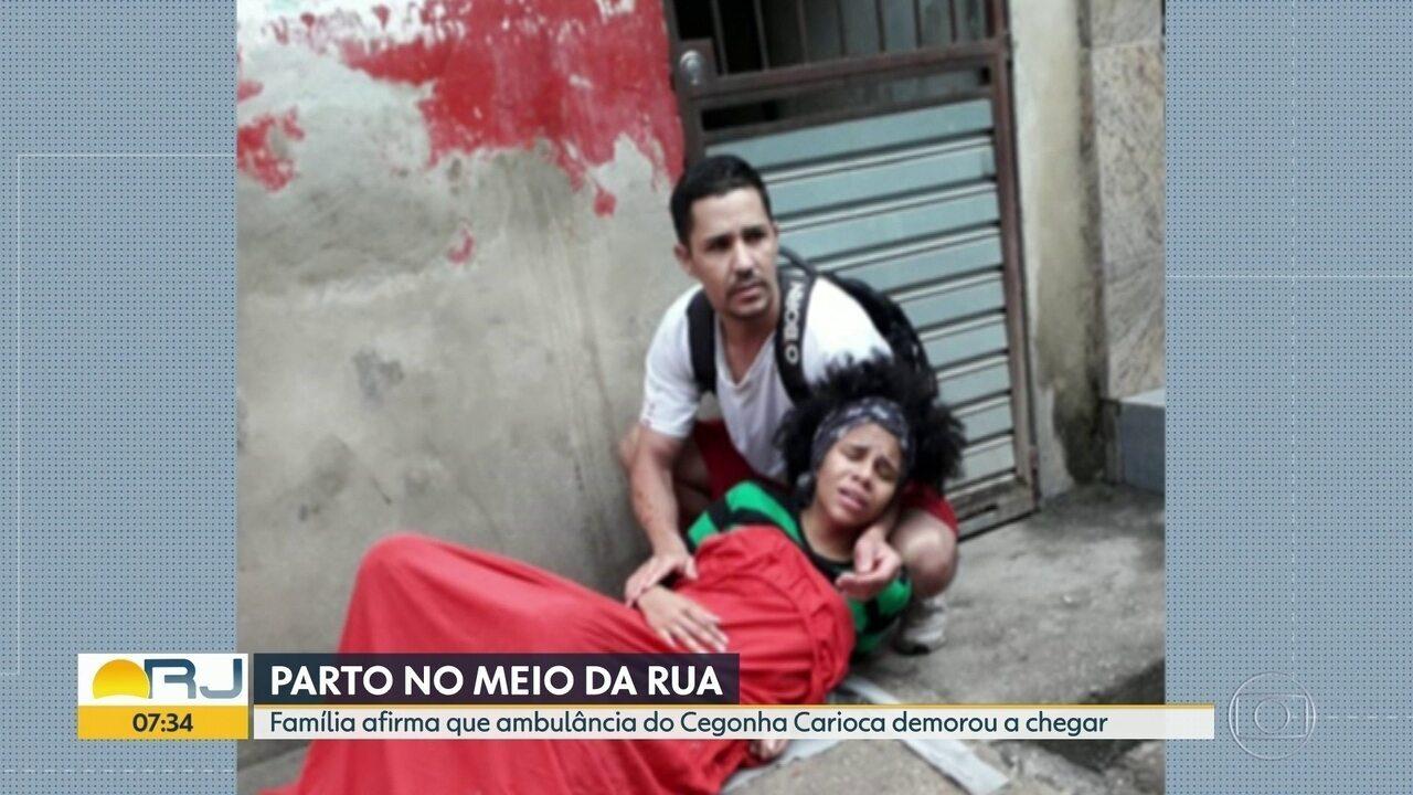 Dois irmãos ajudam no parto de grávida no meio da rua em Rio das Pedras