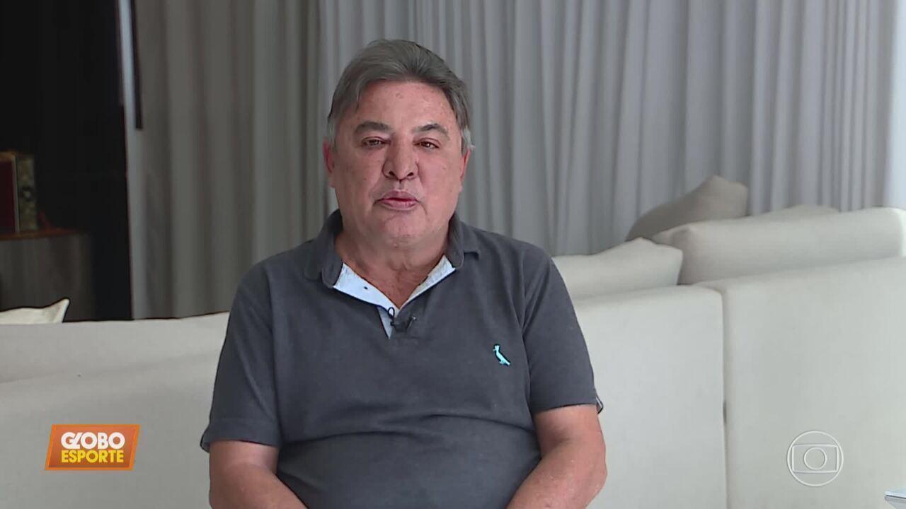 Após Itair Machado ser demitido, Zezé Perrella assume como vice de futebol do Cruzeiro