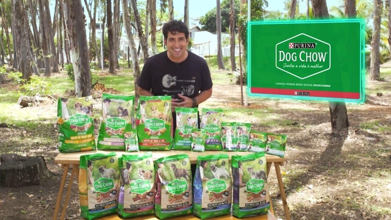Alessandro Timbó lista os benefícios de Dog Chow