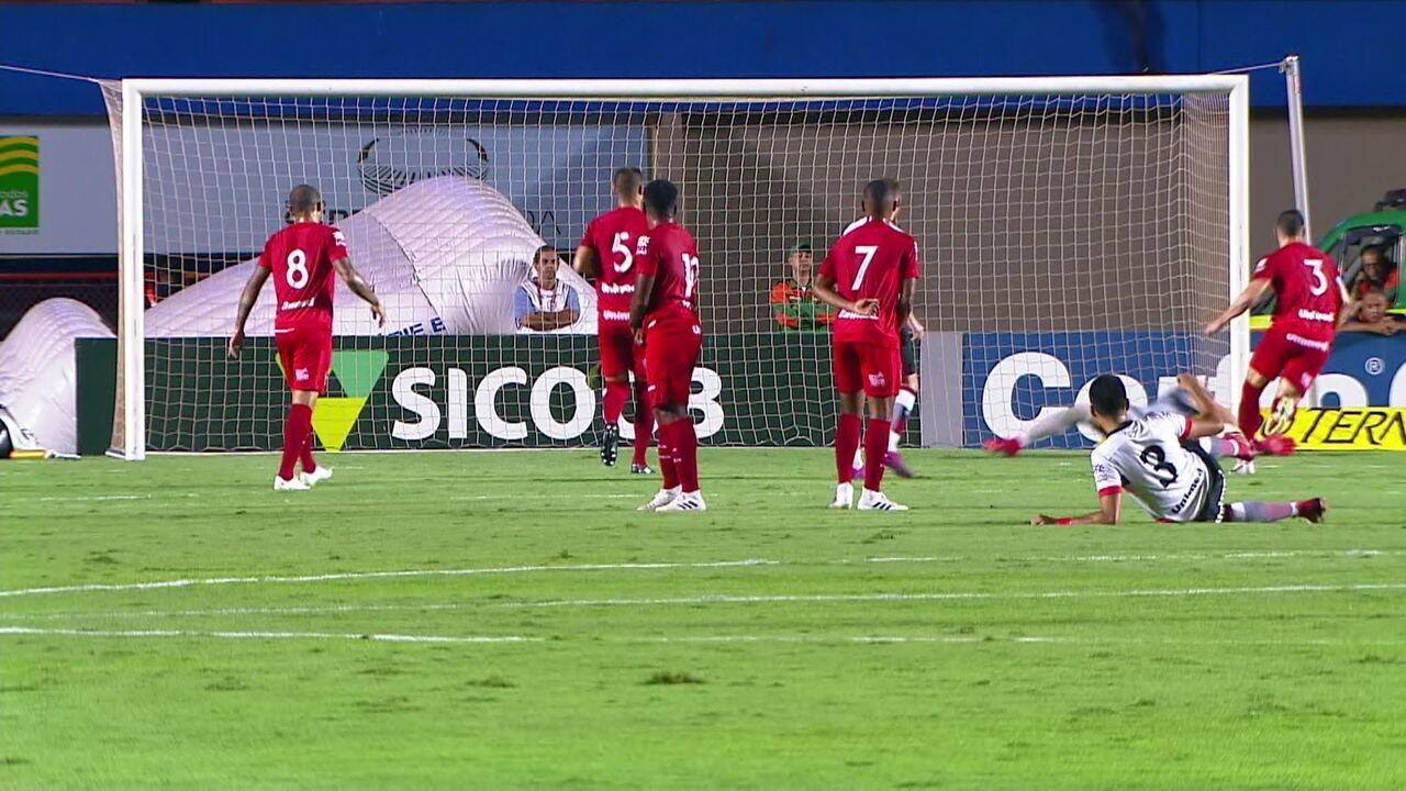 Melhores momentos: Vila Nova 1 x 1 Atlético-GO pela 28ª rodada da Série B