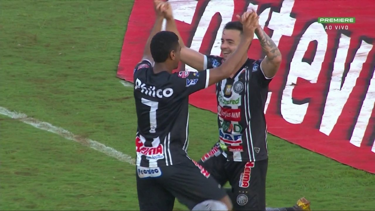 Gol do Operário-PR! Uilliam bate o pênalti com força e marca o segundo do Fantasma