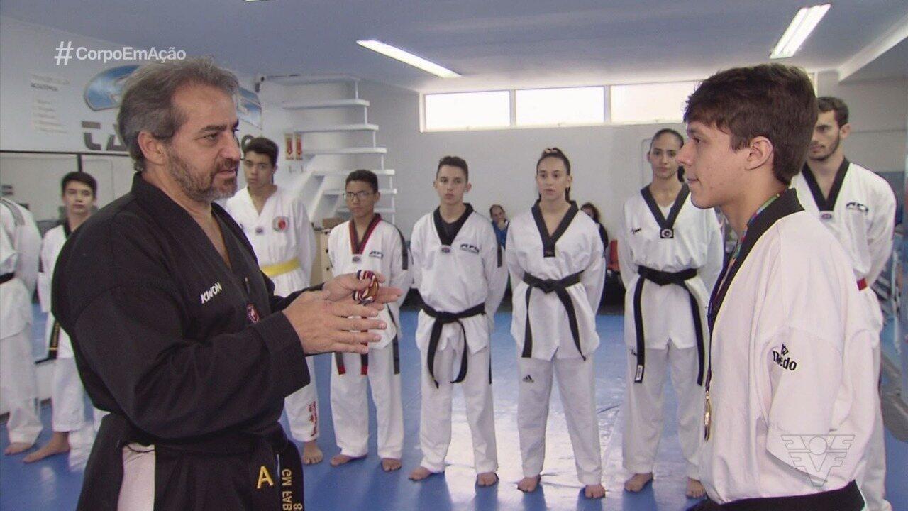 Fábio Goulart e Nathan Torquato se reúnem em encontro de gerações do taekwondo