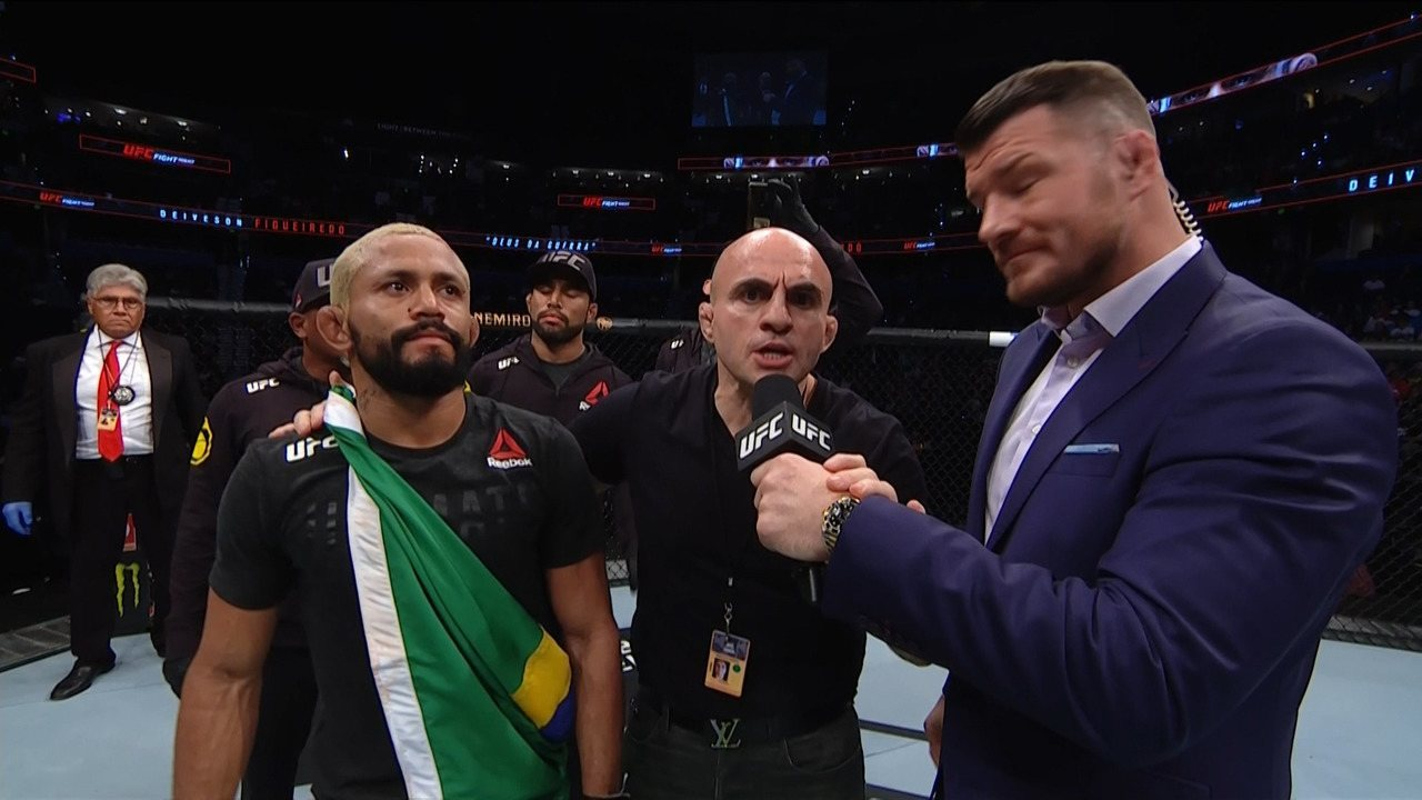 Entrevista do Deiveson Figueiredo no UFC Tampa