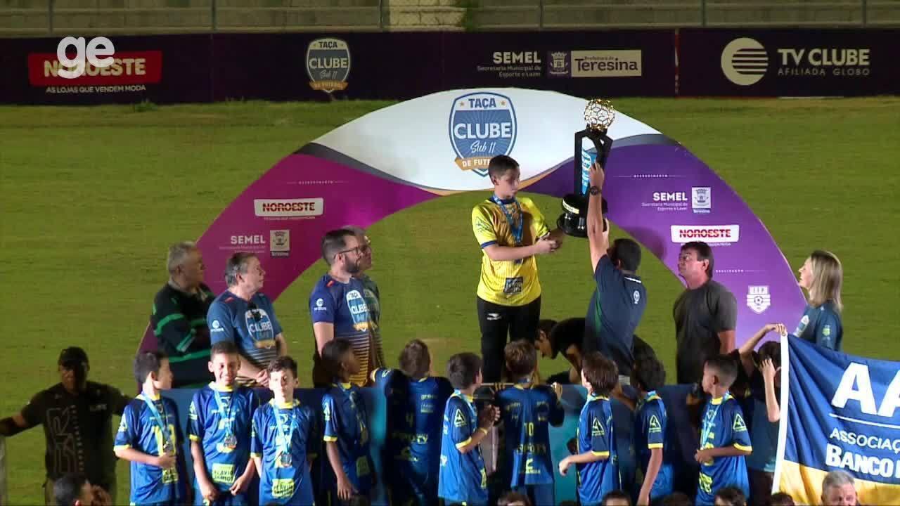 AABB campeã da Taça Clube sub-11