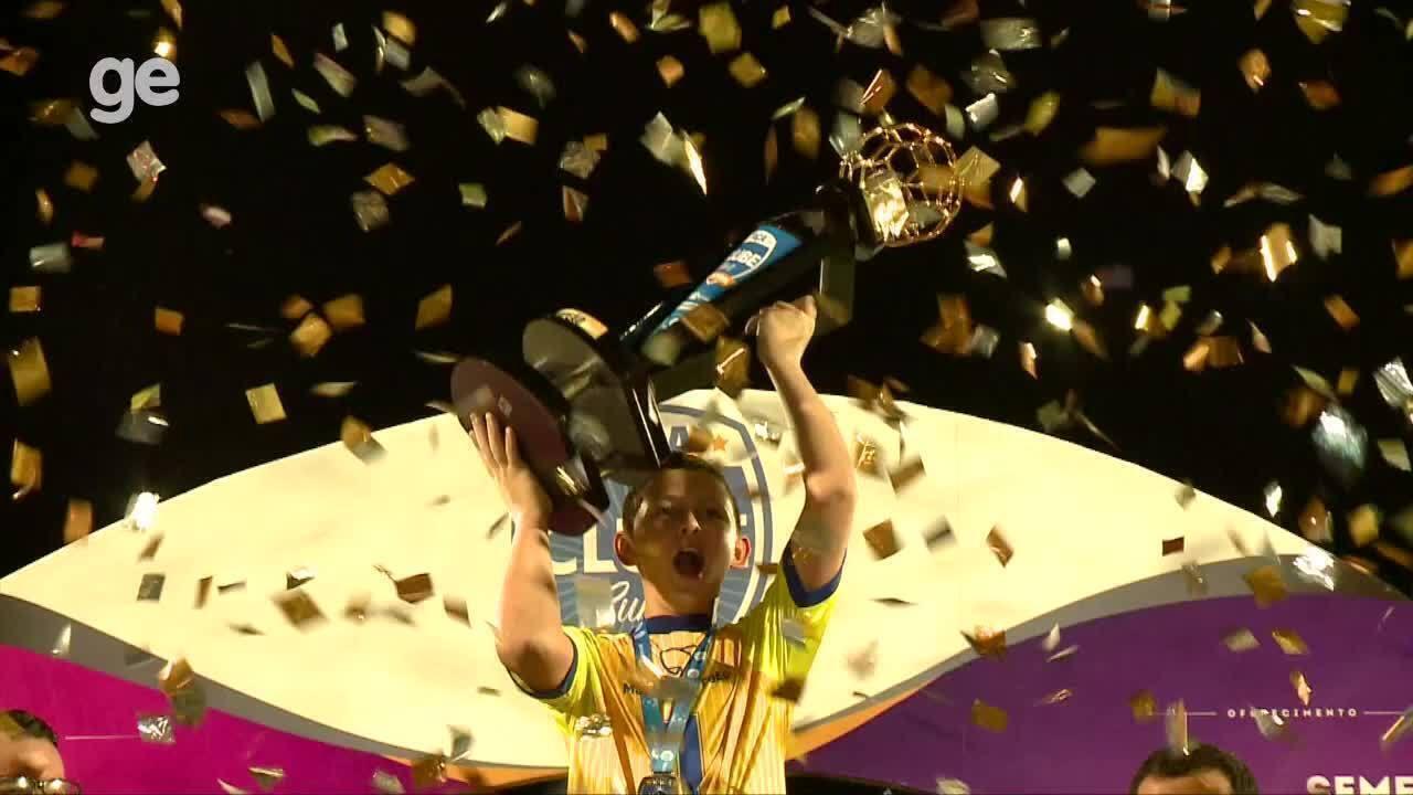 AABB comemora título inédito da Taça Clube sub-11