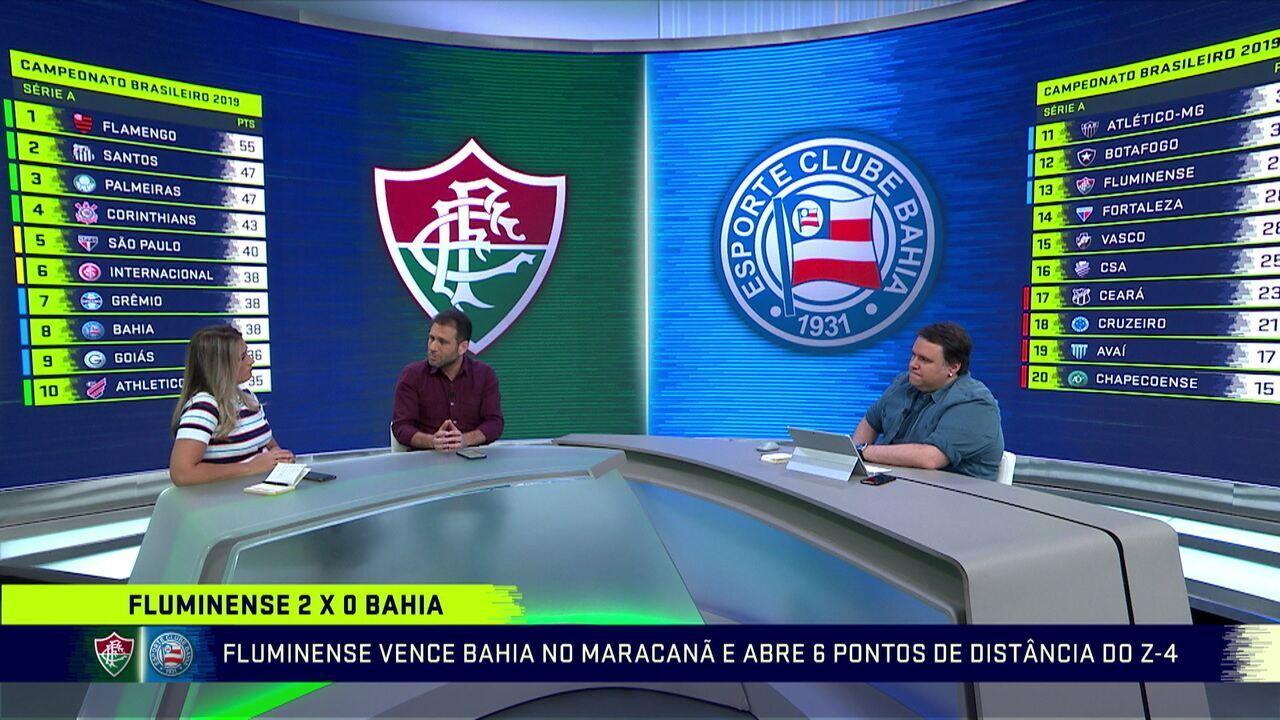 Comentaristas analisam vitória do Fluminense e se Ganso e Nenê podem jogar juntos