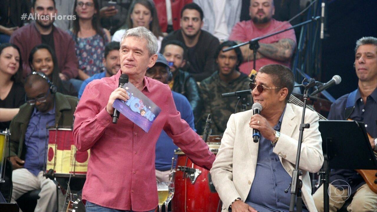 Serginho Groisman apresenta programa em homenagem a Zeca Pagodinho