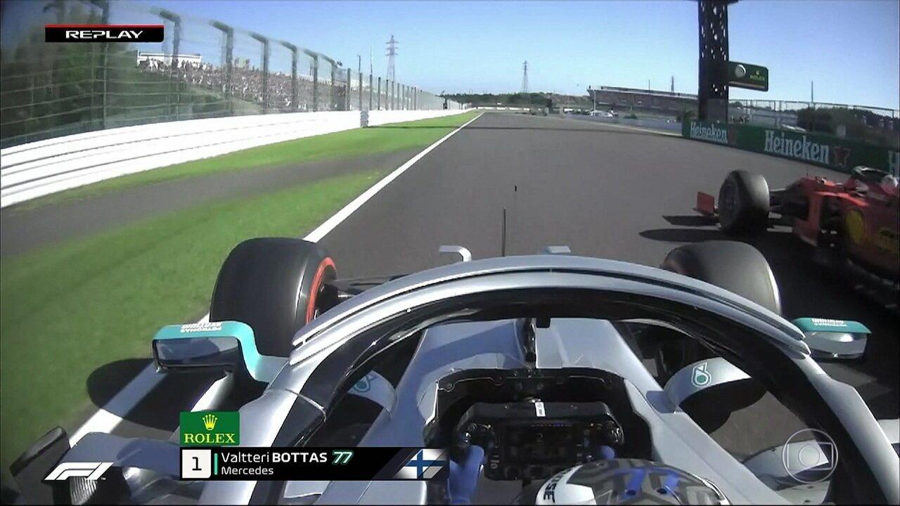 Replay da largada do GP do Japão