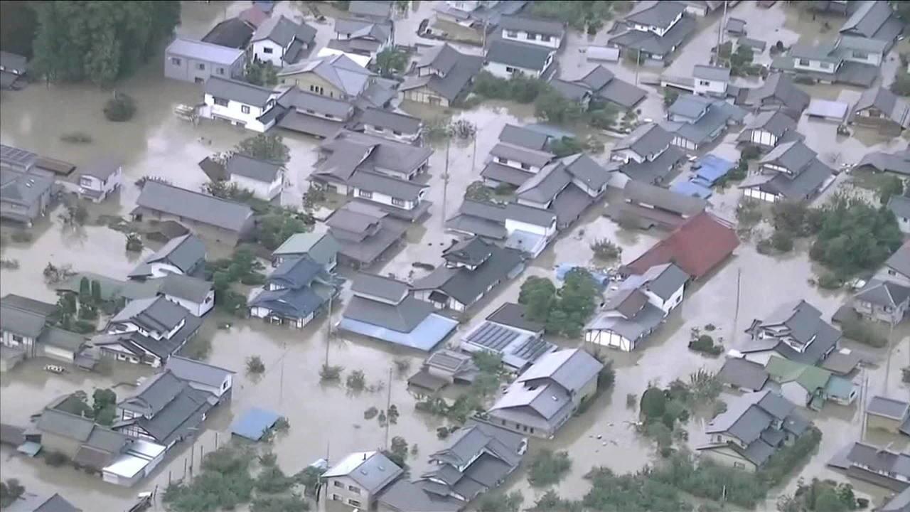 Tufão Hagibis deixa 10 mortos e 90 feridos no Japão