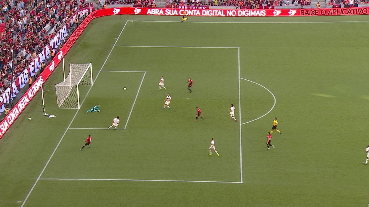 Melhores momentos: Athletico-PR 0 x 2 Flamengo pela 25ª rodada do Brasileirão 2019