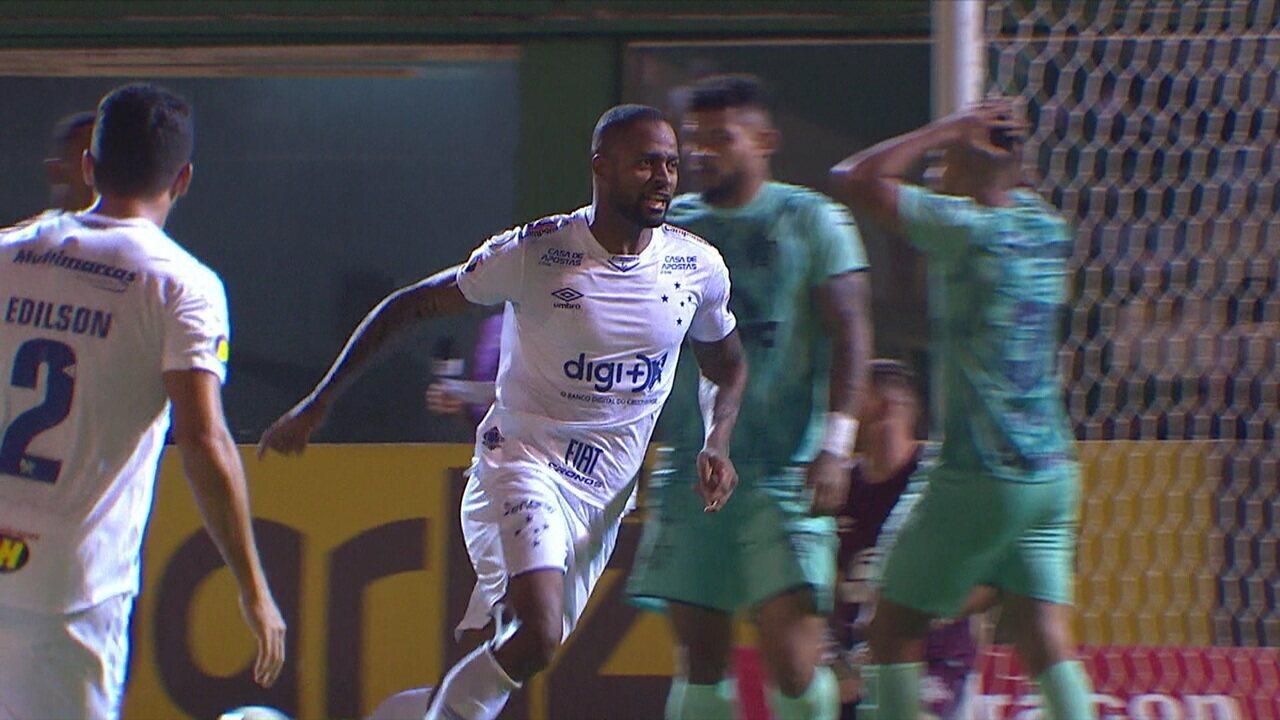 Os gols de Chapecoense 1 x 1 Cruzeiro pela 25ª rodada do Campeonato Brasileiro