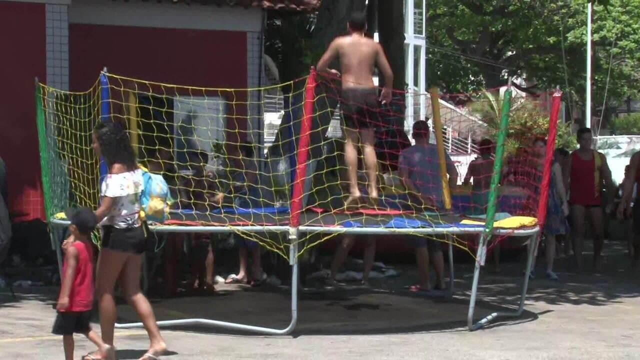 Evento leva diversão para crianças em tratamento contra o câncer, no RJ