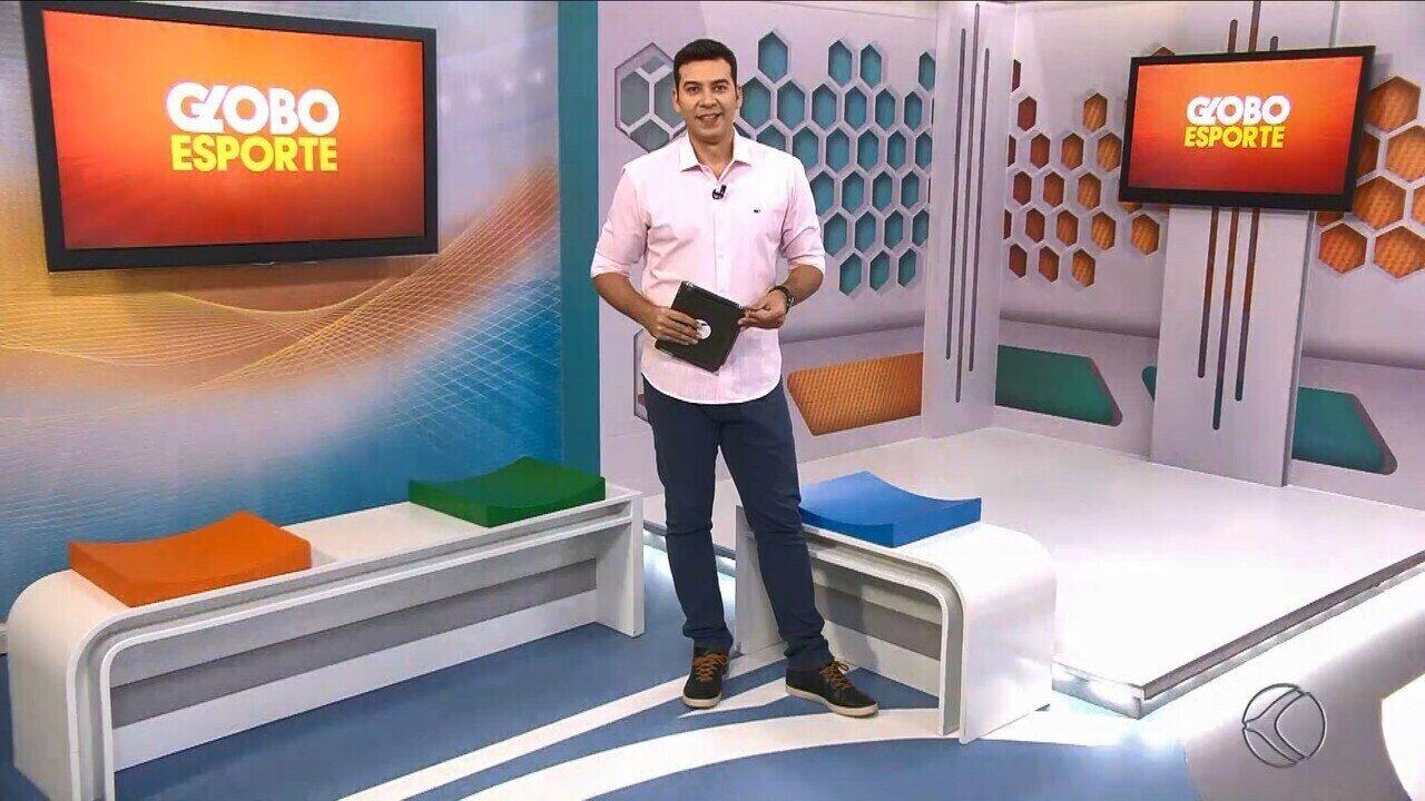 Confira a íntegra do Globo Esporte desta segunda - Globo Esporte - TV Integração - 14/10/2019
