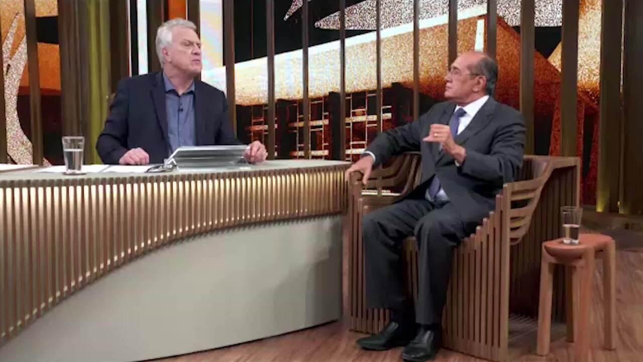 "Gilmar Mendes sobre Sérgio Moro: ""precisa de Bolsonaro"""