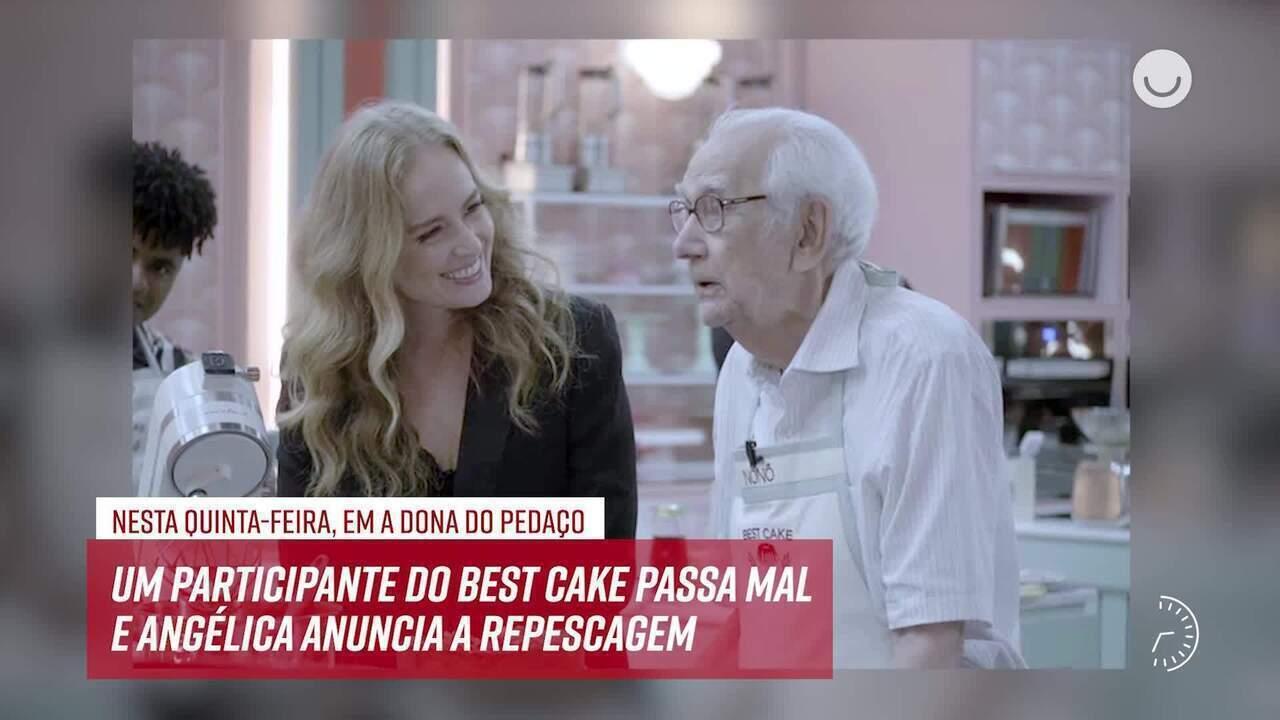 Resumo do dia - 17/10 – Participante do Best Cake passa mal e Angélica anuncia repescagem