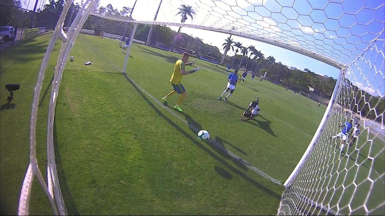 Os gols de Cruzeiro 2 x 1 Vasco pela 19ª rodada do Brasileirão Sub-20