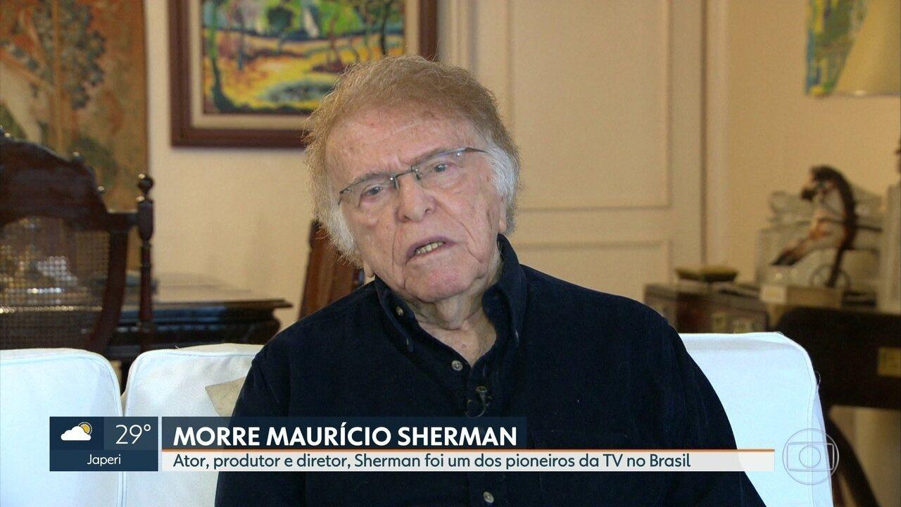 Morre aos 88 anos Maurício Sherman