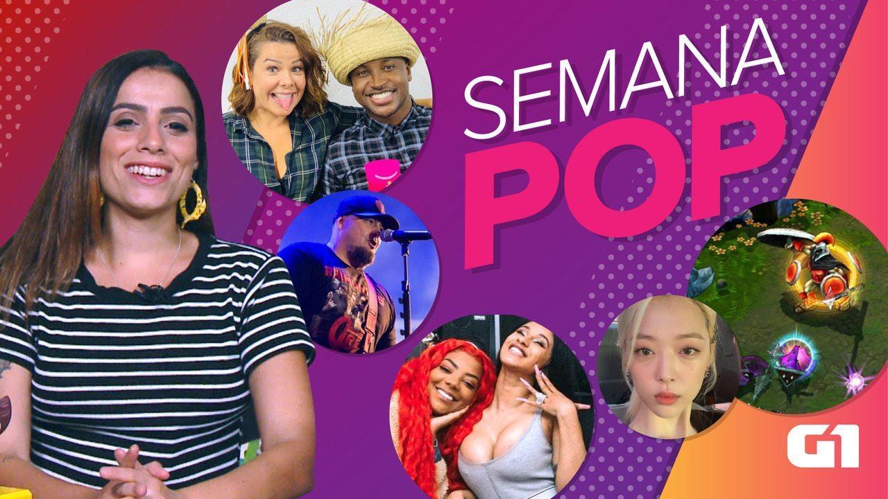 Semana Pop tem luto no k-pop, separação e Joelma alfinetada por roqueiro
