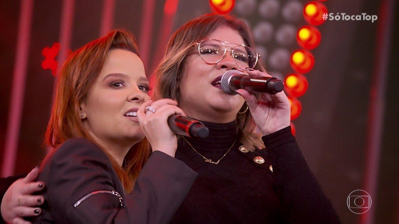 Maiara e Maraísa cantam com Zé Neto e Cristiano e Marília Mendonça