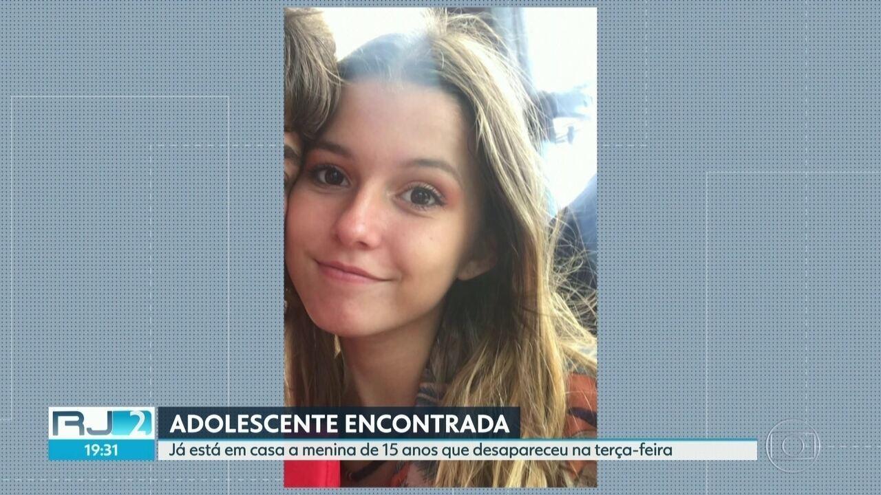 Já está em casa a adolescente que estava desaparecida há quatro dias