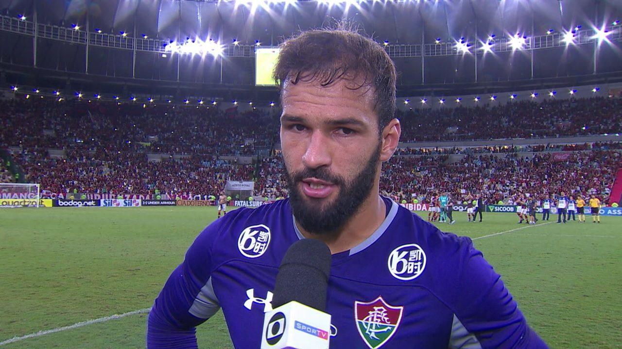Muriel diz que foi merecido a vitória do Flamengo no clássico Fla-Flu