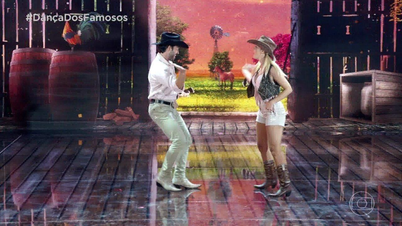 Giovanna Lancellotti dança baladão sertanejo no 'Dança dos Famosos', neste domingo, 20/10