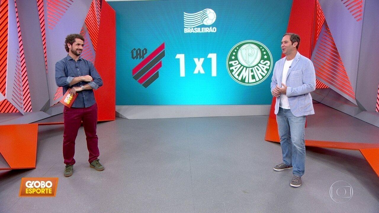 """Palmeiras tem chance? Caio Ribeiro diz que """"o Brasileiro já é do Flamengo""""."""