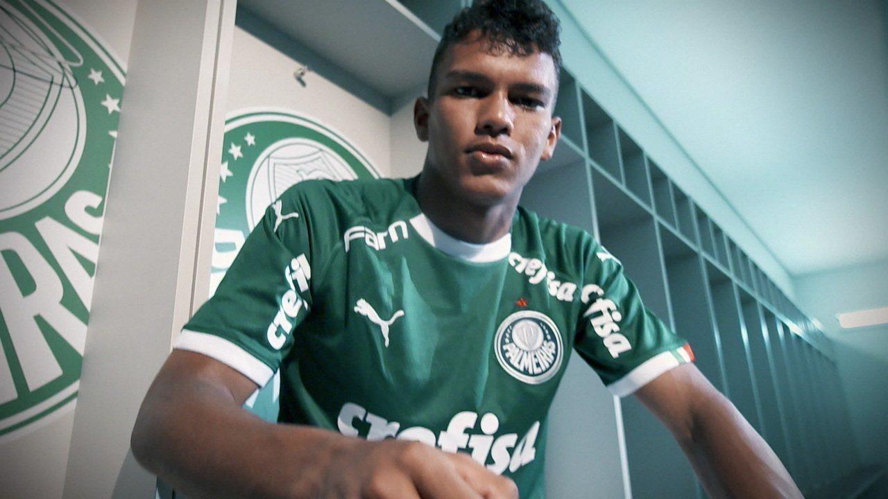 Palmeiras disse não a uma proposta de € 10 mi por Gabriel Veron