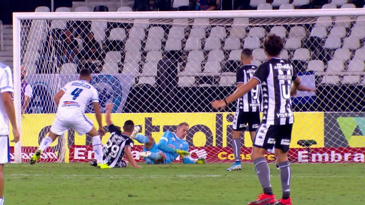 Melhores momentos: Botafogo 2 x 1 CSA pela 27ª rodada do Campeonato Brasileiro