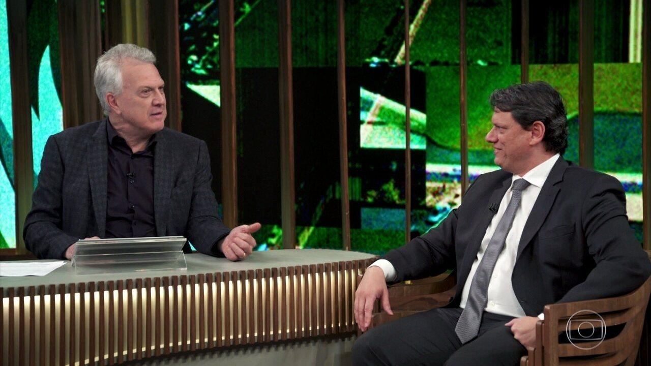 Tarcísio fala sobre sua relação com o presidente Bolsonaro