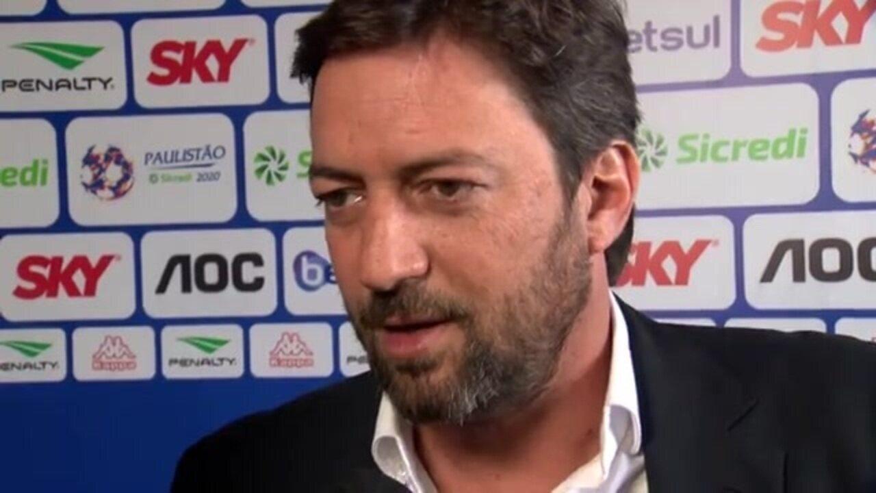 Dirigente do Corinthians fala sobre reforços e aponta vaga na Libertadores como meta