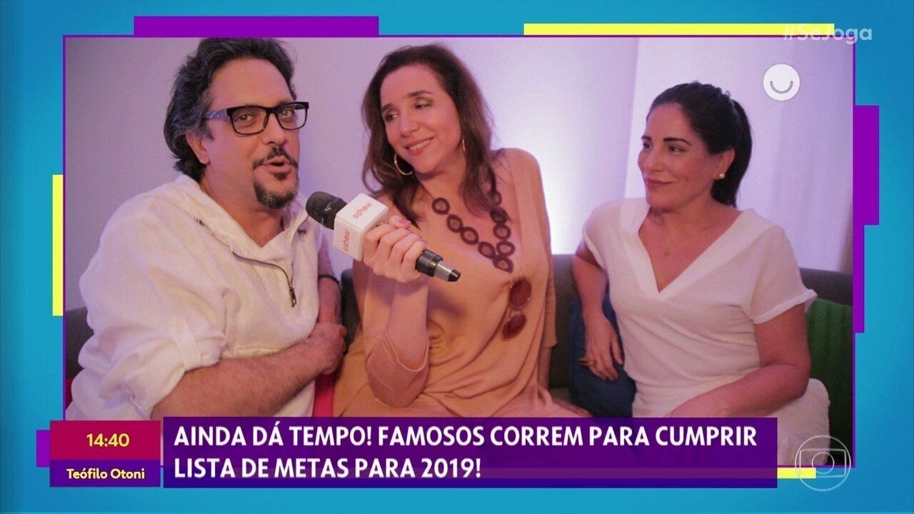 Gshow no 'Se Joga': confira os bastidores de gravação da vinheta de fim de ano