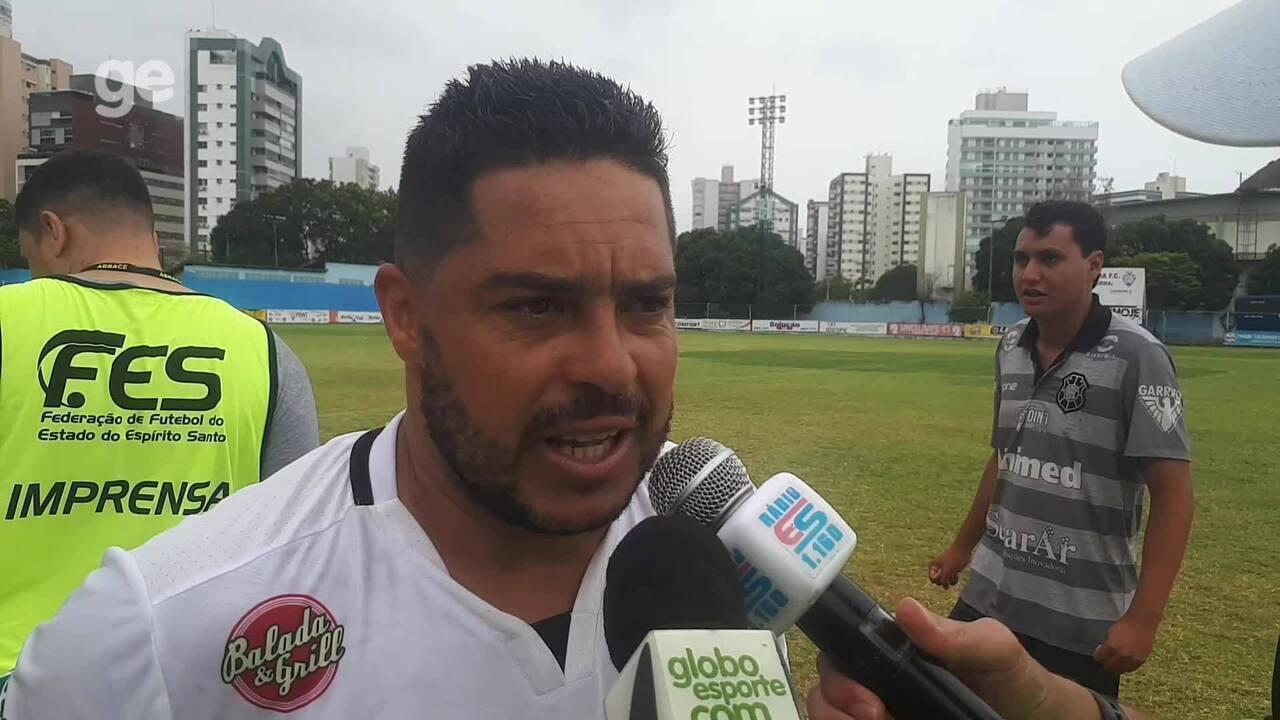 Centroavante nato, Robert enaltece superação do Rio Branco-ES em vitória sobre a Tiva