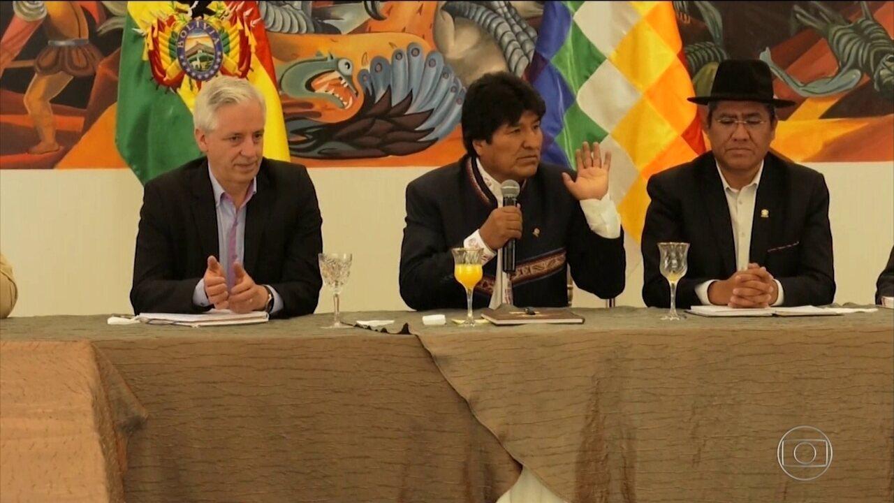 Organização dos Estados Americanos defende realização de 2º turno na Bolívia