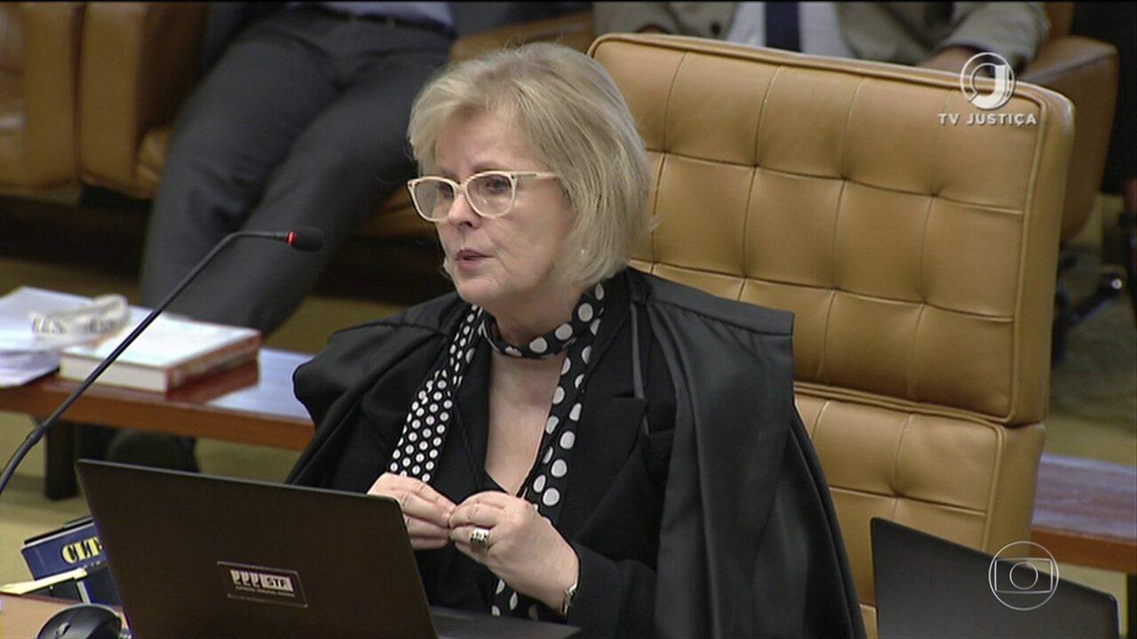 Ministra Rosa Weber vota contra a prisão de condenados em 2ª instância