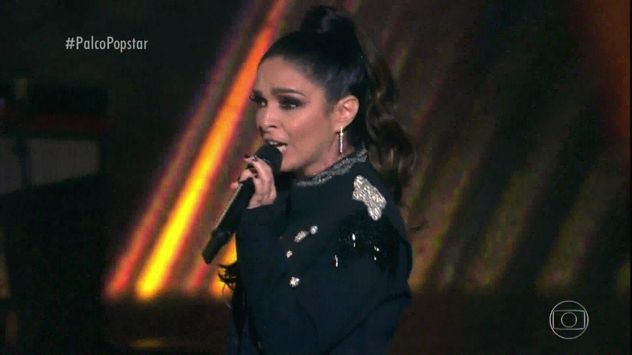 """Claudia Ohana anima o palco do 'Popstar' com """"Man! I Feel Like a Woman"""""""
