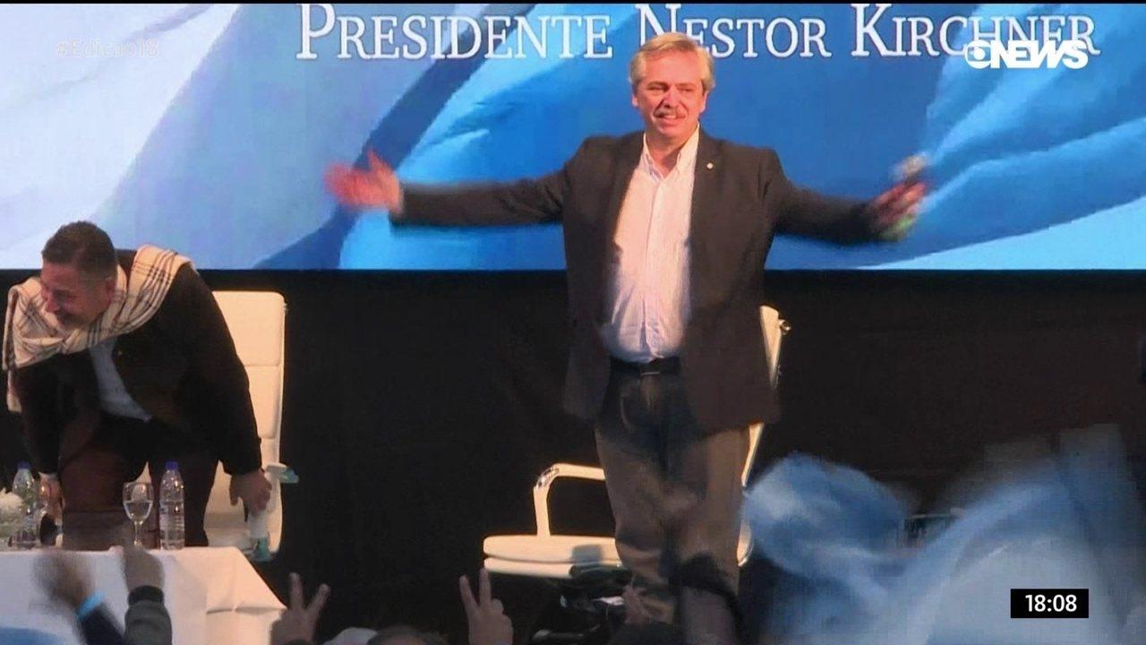 Conheça o histórico de Alberto Fernández, presidente eleito da Argentina