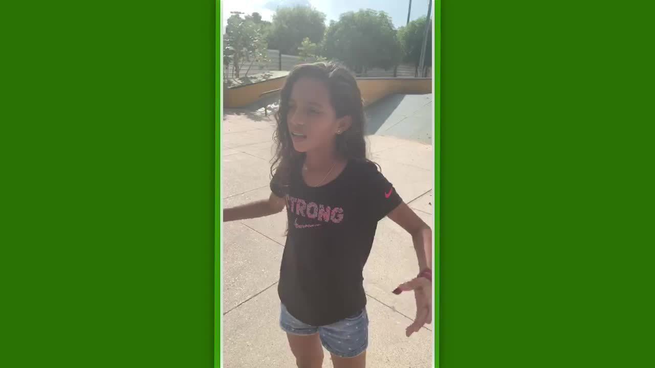 Rayssa Leal, a Fadinha do skate, reclama de pista fechada em Imperatriz, no Maranhão