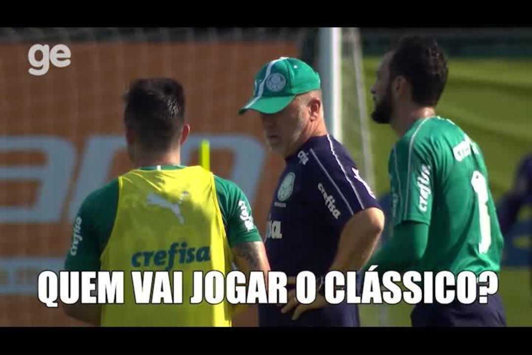 Boletim do Palmeiras: quem vai ser titular no Choque-Rei e o dia do Verdão na Academia