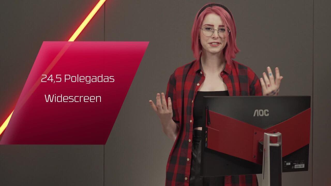Chega ao mercado o monitor mais rápido do Brasil