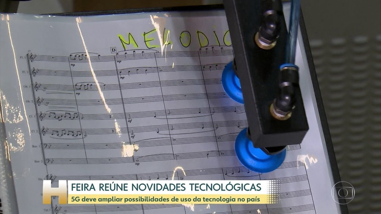 Feira reúne novidades tecnológicas em São Paulo