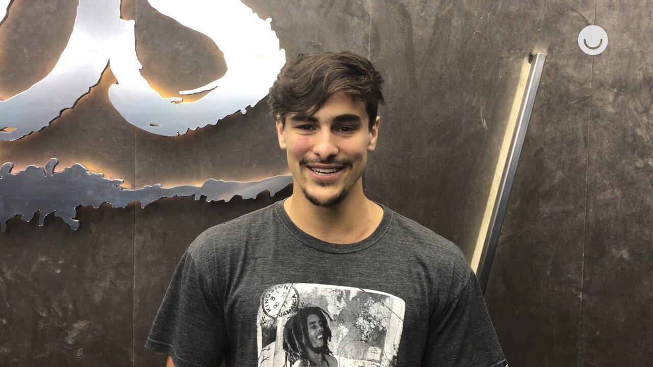 Bruno Montaleone se emociona com mensagens de apoio da família